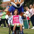 Filbert Fox pushing Lily Sabba