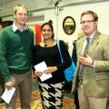 Richard Freeman-Barclays, Sangeeta Freeman and Harry Baines- Brown & Co