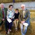 Brian Sutton, Joy, Charlie and Derek Crane