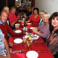 Martin & Pru Smith, Jim & Lesley Beeton, Chris & Car Shardlow and Chun & Heine Saâre