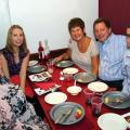 Tricia Frost, Vicky Higgins, Tricia &, John Higgins and James Frost