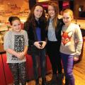 Libby, Ellie, Paige and Poppy