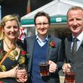 Emily Braham, James Rees and Tim Downing