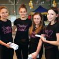 Ellen & Gabrielle McNeelance with Olivia Parry and Sarah Lovegrove