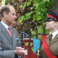 HRH Earl of Wessex Opens Soft Touch Arts