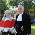 High Sheriff's Welcome to The Honourable Mr. Justice King at Leicester Crown Court