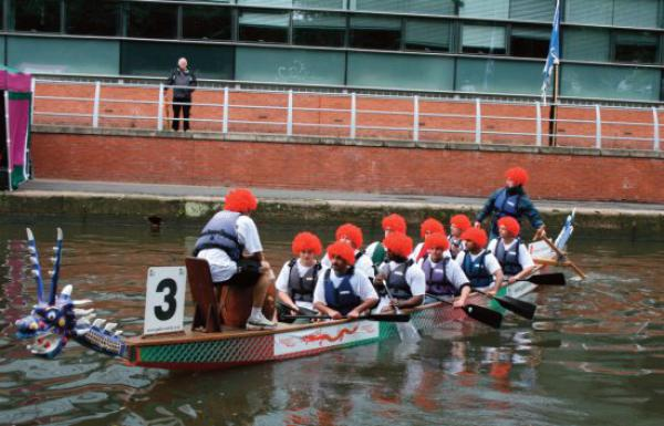 Dragon boat race in aid of PROSTaid