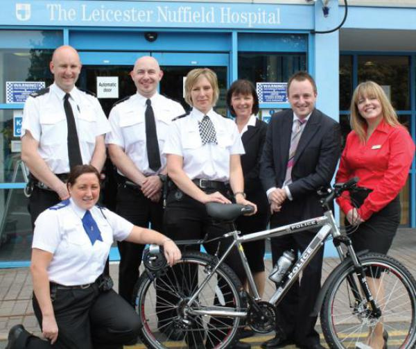 Members of the local neighbourhood policing team