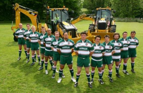 Caterpillar And Leicester Tigers