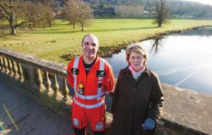 The Air Ambulance Is Official Charity for Dodson & Horrell Chatsworth International Horse Trials