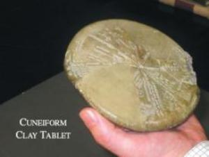 Cuneiform clay tablet