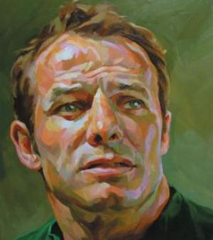 Portrait of Austin Healey by Paul Wright