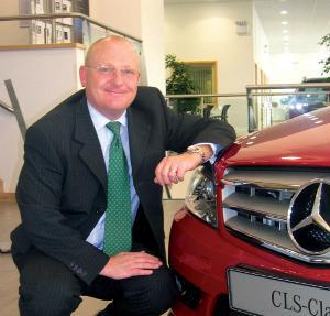 Adrian Beaumont, General Manager of Merecedes-Benz of Leicester