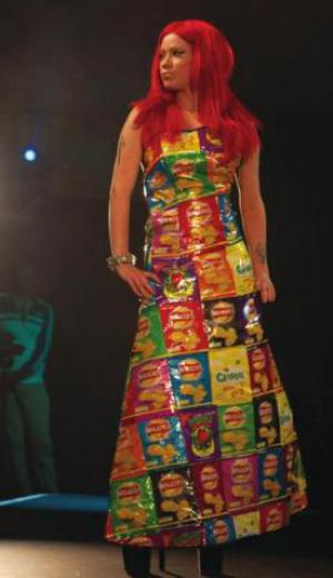 Walkers Crisp packet dress