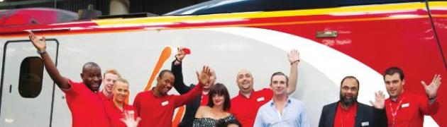 Rights for people with Polio and PPs 'ad-dressed' with help from Virgin trains!