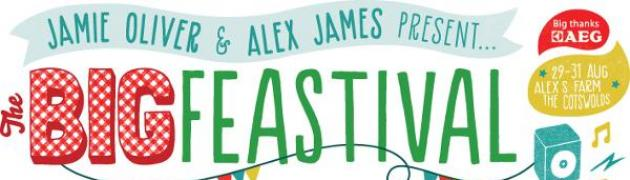AEG is proud to be headline sponsor of Jamie Oliver and Alex James present The Big Feastival 2014