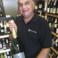 Harish with the magnum of Deutz Champagne