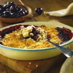 Cherry Nut Crumble, A Quick and Easy Pudding From Whitworths