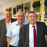 Paul, Ray and Mark Fenn of Leicester's Gas Superstore