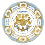"""10"""" large plate, Royal Collection Trust / (C) Her Majesty Queen Elizabeth II 2016"""