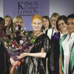 King's college London academic dress, designed by Vivienne Westwood