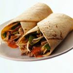 Tortilla Duck Wraps with Oriental Style Sweet Chilli Sauce