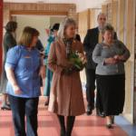 Duchess of Gloucester visited Loros