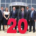 Mattioli Woods pension consultants celebrating 20 years in business