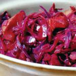 Spiced Red Cabbage (Microwave Recipe)