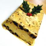Christmas cake iced terrine recipe