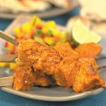 Tandoori Salmon with Mango Salsa