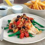 Grilled Fish with Herby Tomato Salsa