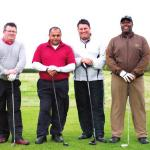 GTC International the winning team:(From left to right) Julian Griffiths, Jas Kainth, Nick Griffiths, Terry Begnor
