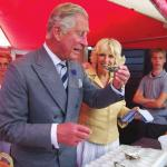 TRH The Prince Of Wales And The Duchess Of Cornwall Taste Oysters At The Whitstable Oyster Festival