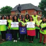 Leicester Lioness Club raise over £1,000 at fundraising walk