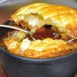 Hercules Chef Chris Peasgood Prepares A Game Pie