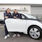 Foxes Visit For Partner Sytner