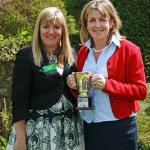 Milly Wastie, Regional Manager with Debbie Skinner