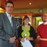The Leicestershire Golf Club Lady Captain's Presentation to Neo-natal Unit