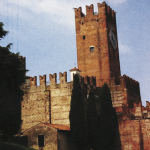 Villafranca, the great castle of Prince Escalus, near Verona, to which he summoned old Montague for judgement in Romeo and Juliet.